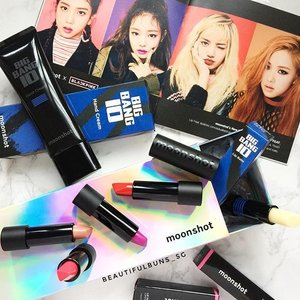 Some new K-beauties available at @sephorasg (and I'm not talking about the pretty ladies from BlackPink) heh. The new Lip Feat lipsticks from @moonshot_korea have a unique bullet shape that will make drawing the outline of your lips much easier without a brush. Oh and there's also a scented Big Bang hand cream as well as lip balm~ 🤗#sephora #sephorasg #moonshot #bigbang #blackpink #lips #beauty #beautyblog #beautyblogger #clozette  #beautyaddict #bblogger #instabeauty  #makeup #makeupjunkie #makeupaddict #makeupstash  #beautyjunkie #trendmood  #makeuphoarder #igbeauty #koreanbeauty #koreancosmetics #kbeauty #문샷 #문샷x빅뱅10 #빅뱅 #브랙핑크