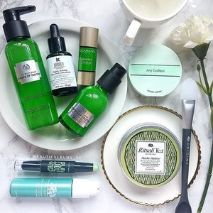 When you tell a beauty junkie to get her greens, this is what happens 😂 - - - #beauty #beautyblog #beautyblogger #clozette  #beautyaddict #bblogger #instabeauty  #makeup #makeupjunkie #makeupaddict #makeupstash  #beautyjunkie #trendmood #skincare #skincareblogger #makeuphoarder #igbeauty  #clarins #clarinssg #origins #originssg #thebodyshop #thebodyshopsg #etudehouse #anycushion #kiehls #kiehlssg #greens #키엘 #클라란스