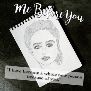 "Two weeks until the premiere of the film adaptation of Jojo Moyes' romance novel ""Me Before You"" , too excited that I tried (yes, tried) to sketch Emilia Clarke a.k.a Louisa Clark ,I failed miserably, however, the excitement is not lost on me. Can't wait 'til it hit the big screen!#Clozette"