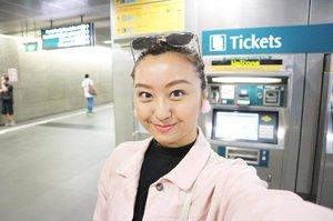Quick snap at Subway! 😜 #selfie