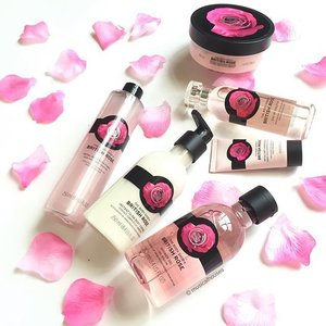 If you haven't yet, it's a great time to check out @thebodyshopsg #britishrose #skincare and #bodycare collection! The scent in this range is a very fresh, wearable rose, not overpowering at all. Includes #bodybutter, #fragrance, #handcream, #bodyessence, #showergel and #bathfoam! #Clozette #beauty
