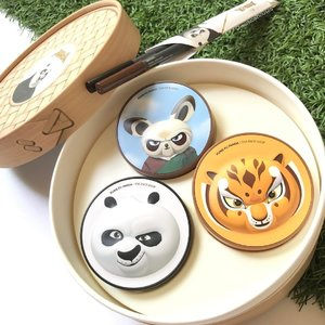 "Cutest dimsum ever, and it's 0 calories, lol! 😂😂😂 I'm talking about the @thefaceshop_sg x @dreamworksanimation #kungfupanda #makeup set! This is a ""dim sum""-styled set, with 3 ""dim sum"" back, aka cushions (Oil Control Water Cushion, CC Ultra Moist Cushion, CC Intense Cover Cushion), and two Inkgel pencil #eyeliner as ""chopsticks""! Get it at all #thefaceshop stores! ___________________ #clozette #beauty #igbeauty #igmakeup #iphoneonly #instabeauty #instamakeup #cosme #cosmetics #bbcushion #cushionfoundation #kbeauty #koreanmakeup #koreanbeauty #kmakeup #rasianbeauty #abcommunity #asianbeauty #asianmakeup #makeup #beauty #makeupjunkie #makeupporn #makeuppost #beautyaddict #cute"
