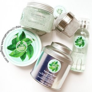 My review of @thebodyshopsg #fujigreentea #bathandbody products is finally up! The range includes #greentea from Japan, and consists of a #cologne/#bodyspray, #bodyscrub, #bodybutter and #bathtea, which is basically #bathsalts, with green tea and herb leaves. The #scent of the range is a unisex mix of citrus and tea. And yes this did take awhile and I am a slow tortoise - just been super busy with work and other IRL stuff! But I did to through the ingredients for all 4 products so that makes up for it, right? Right? LOL. #Clozette #skincare #bodycare