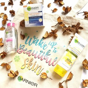 Wake up to beautiful skin with some @garniersg #skincare! These are pretty decent given the price! The yogurt #sleepingmask has niacinamide as the 3rd ingredient, which I really like, and the #micellarwater also has a fairly good ingredients list. The only one I didn't quite like was the #brightening foam #cleanser, because it was a little bit too much on my skin. But if you have oily skin, or like squeaky clean cleansers, you'll really like this! #clozette #beauty
