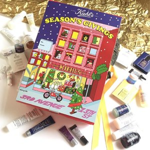 How cute is the #kiehls #adventcalendar! This is designed by @jeremyville has 25 mini sizes of #skincare, #bodycare and #haircare products, including some of their all-time favourites like #serum and #moisturizer. The @kiehlssg instagram page is also holding a giveaway right now, so you can check it out! #Clozette #beauty #jeremyville