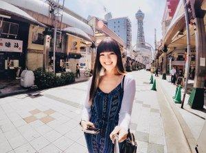 Tsutenkaku tower on a bright and sunny day! #tsutenkaku #tsutenkakutower #osaka #osakajapan #osakatravel #japantravel #exploringjapan #japanloverme #allitravel #travelogue #travelgram #travelasia #travelstoke #wanderlust #clozette #gopro #goprohero4 #gopronation #goproeverything #vscotravel #throwback