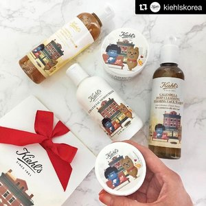 💅🏻💄💋 [KIEHL'S] LOOK. AT. THIS! This is my favorite skin care brand Kiehl's with Kakao Friends in another awesome collaboration! WAHHHHH! . Hello Frodo! Hello Neo! Hello hello hello 👋🏻