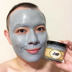 🦁🦁🦁Time for a deep cleansing Charcoal mask! Tonight, it's one from a Thailand beauty brand named Beauty Cottage. This is their 【Bamboo Charcoal & Volcano Mud Clay Natural Detox & Refining Facial Mask】.......yes, it is that long a name..Now, long name aside, this mud mask has a nice creamy consistency that makes spreading it a breeze. It is also fortified with CoEnzyme Q10 and Vitamin E to help promote collagen synthesis and to moisturise. Other skin-loving ingredients that can be found are Cucumber, Honey, Aloe Vera, and Yogurt..After washing it off, skin is cleaner and without the usual dryness. Must be those honey and stuff that kept it moist. At just ฿245 (approx US$7), it is a good buy!