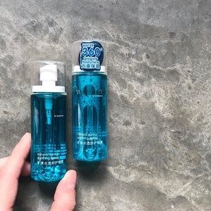 """🦁🦁🦁 Another awesome buy from my visit to Malaysia last week. These little blue mini bottles are 【Water360° by Watsons Mineral Soothing Spray】that I picked up from the local Watsons store in Pavilion. It features the line and brand's own 'Water360° Quintuple Hydrating & Moisturizing System' targeted for all skin types for immediate refreshing and thirst quenching benefits. . What got my attention was its greenish-blue lagoon colored bottle. If I can say so, this is color psychology on consumers done right! The lagoon, the transparent and the white -- they all scream """"let me hydrate you with my juice!"""". And the affordable price tag of less than $2 just made me to gahhh *throw a few in shopping basket*. . For those of you who do not appreciate fragrance/scent, you'd be happy to know that the solution does not smell of anything (although parfum is added). If anything, it is of a clinical, just wiped-down smell. Some of the ingredients highlight are: • Glycerin • Witch Hazel • Hot Spring Water • Sodium Lactate • Sodium Hyaluronate • Centella Asiatica • Brown Algae • Kelp • Arginine • Glutamic Acid • Ascorbic Acid • Vitamin E . However, do note that the bulk of the ingredients fall behind the preservative (after Sodium Lactate) and does contain perfume and methylparaben (second last ingredient). But with every intention to use it as an everyday water-boosting mist, I am happy and satisfied with everything I have read and felt. What say you? Would you grab one or two to try too?"""