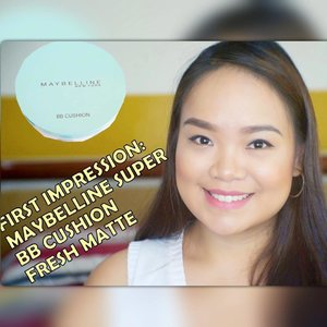 Have you seen my previous beauty video? It's my latest #firstimpression review- @welovemaybelline Super BB Cushion Fresh Matte. If you haven't watched it yet, head over to youtube.com/yellowyum. 🌞 #yellowyum #msyellowyum #beauty #beautyph #beautyblogger #beautybloggerph #bblogger #bbloggerph #manilablogger #lifestyle #lifestyleblogger #pinayvlogger #blogger #bloggerph #youtube #youtuber #youtuberph #vlogger #vloggerph #clozette