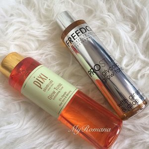 """Apologies to Pixi Beauty Glow Tonic fans. Posting this pic might be considered sacrilege to beauty junkies out there. But as a #beautyjunkie I just had to get one """"glow tonic-wannabe"""" to try and report back. Scared & nervous but wish me luck.🙏🏻 #beauty #skincare #clozette #igers #instamood"""