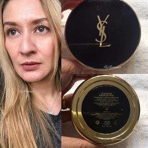 #MyRomanaFoundations Late night conversation with some #makeupjunkie friends prompted me to dig into my cushions collection to see if I have any @yslbeauty ones. 🤔 Of course I do! 💃🏼 • • I recall buying this at KLIA Duty Free last year. First time using it this morning. This is a matte foundation suitable for normal-oily skin. But it works well on my dry skin. Fyi I applied using a beauty blender rather than the sponge applicator that came with it. I'd say this is a buildable medium to full coverage. I didn't have to use any concealer except on my under eye area. I took this photo after approx 5 hours. As you can see it still looks matte and there's no oily t-zone(I did apply Rimmel Stay Matte powder on my t-zone) • • I might like this one a tad bit more than my Diorskin Forever Cushion (only cos that one tends to oxidize a bit compared to the liquid version). The coverage is mind blowing! Can't believe it hid my pigmentations! • • #MyRomana #clozette #ysl #yslbeauty #ysllecushionencredepeau