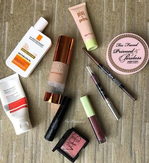Summer makeup. I love mixing some @pixibeauty Glow Booster to my foundation. • • #MyRomana #clozette