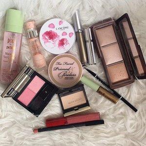 Lucky 13 that made it to my #motd this morning. #makeup #beauty #fotd #makeuplover #makeupaddict #MyRomana #makeupjunkie #clozette #pixibypetra