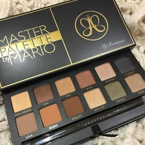 @anastasiabeverlyhills @makeupbymario #masterpalette Just as #beautiful IRL as I had imagined. Fyi #makeup is more expensive in #Dubai so try to get your hands on this(or any other brands) via the USA . . . .  #instaworthy #anastasiabeverlyhills #makeupbymario #MyRomana #Clozette #MakeupJunkie #sephora #sephoradubai #MyRomanaWinter2016
