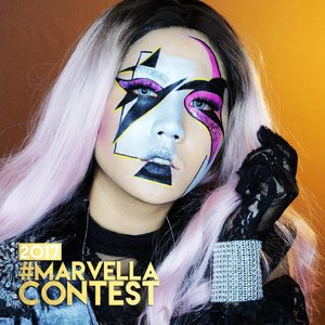 "OMG GUYS I MADE IT TO THE TOP 10 MARVELLA CONTEST 😭😭😭💖💖💖💖💖 THANK YOU JUDGES @delaniamarvella @minyo33 @joviadhiguna @janineintansari SENENG BANGET THANK YOU SMUA SUPPORTNYA LOVE YOU GUYS  @nyxcosmetics_indonesia @nyxcosmetics NYX products used : 💖 Two Timer ""Jet Black"" 💖 Jumbo Eye Pencil ""Black Bean"" 💖 Wonder Pencil ""Light"" 💖 Total Control Drop Foundation ""Medium Olive"" 💖 Powder Foundation ""Soft Beige"" 💖 Eye Base ""Pearl"" 💖 Ombre Blush ""Code Breaker"" . 📸SONY A6000 . . #NYXCosmeticsXMarvella #ibvxmarvella #marvellacontest2017 #ivgbeauty #indobeautygram #beautynesiamember #clozette #clozetteid #nyxcosmetics  #nyxcosmeticsid #beautyjunkie #beautyjunkies #ladygaga #instamakeupartist #makeupporn #makeuppower #beautyaddict #fotd #motd #eotd #makeuptutorial #beautyenthusiast  #makeupjunkie #makeupjunkies #beautyvlogger #wakeupandmakeup #hudabeauty #featuremuas #undiscovered_muas"