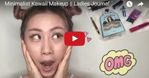 Minimalist Kawaii Makeup