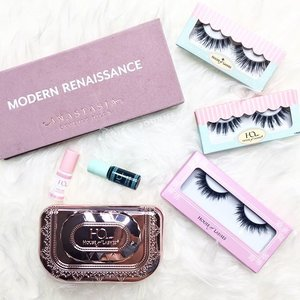 "A set of Precious Gem Lash Kit ""Date Night"" from @houseoflashes + Temptress Wispy are on my hands now.  Time to seduce the prince charming with just one sight. Eyes are the windows to the soul, they said 👀😏 Which are your favourite? Any lashes that you can recommend, please comment below 😊 ----- #ladies_journal #clozette #clozetteid #flatlay #instagood #igsg #sgig #houseoflashes #anastasiabeverlyhills #modernrenaissance #beauty #beautygram #beautyinsider #romantic #flirty"