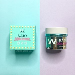 Thank you @wonjineffect 😍 Intensive skin care that you can use it day and night time. This cream can give you brightening effect, fast absorption, refreshing and wrinkle care.  I am so happy to have it ☺️ #wonjineffect #babyglowcream ---- #ladies_journal #clozette #clozetteid #beauty #beautygram #skincare #koreanskincare #kbeauty