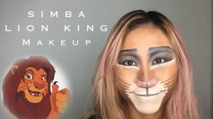 SIMBA - LION KING Makeup using contour palettes & eyeshadow || LADIES JOURNAL - YouTube