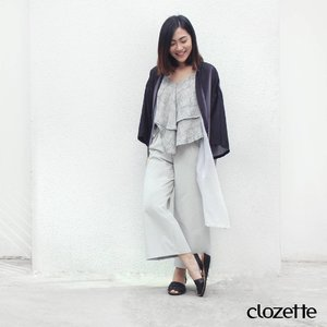 """#Clozette30DaysOfStyle DAY 29: """"I'm in love with this long ombré kimono from zalia, it feels so light and flowy, perfect even for humid days. Decided to pair it with pieces of the same tone - my happy colours."""" - Azleena Chng (@azzychubby), Campaigns ExecutiveTop: @mangoPants: @theeditorsmarketKimono: @zalia_officialShoes: Abarcate sandals#TeamClozette will be sharing an OOTD each day throughout the month of August in celebration of our #FashionIssue. Get to know the beautiful women and men behind the leading women social network in Asia.Join in on the fun! Be part of our community at www.clozette.co! Then upload an #OOTD each day through August with the hashtag #CLOZETTE and we may just feature your look."""