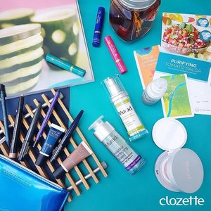 Sliding into the weekend with some of our favourite #Muradskincare products and their all new MattEffect Blotting Perfector, along with a slap of #Mentholatumlipcaresg's Premium Rich Moist Lip Balm and a glide of #makeupforeversg's new Aqua XL Ink Liners and Aqua XL Color Paint! #Clozette #ClozetteSHOTS #Extralonglasting #TLCmylips  Want to be a Clozetter? Join our community today at www.clozette.co for more tips on beauty and fashion! #Clozette #ClozetteSHOTS