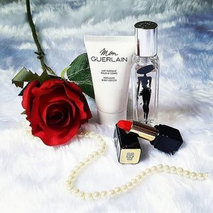 When in doubt, always go for the classics. The perfect pairing of the Mon Guerlain and red lipstick is nothing short of timeless. Right, ladies? // 📷  #Clozetter @musiquescents  Want to be a Clozetter? Join our community today at www.clozette.co for more tips on beauty and fashion! #Clozette #ClozetteSHOTS