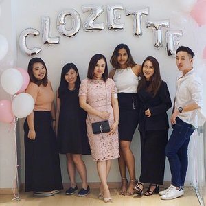 Thank you all who joined us at our Malaysia #MyNewClozette Tea Party 2017! We hope you had as much fun as we did catching up with you. Much love to our partners: @imagenelabs, @senkamalaysia, @qttiegelly & @zaloramy! #Clozette #MyNewClozette
