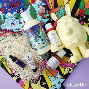 Skincare is important, but we can't get over gorgeous packaging! The Kiehl's x Jeremyville Holiday Collection is inspired by New York City's Central Park during the holiday season - major love! #Clozette #ClozetteSHOTS #KiehlsSG #kiehlsxjeremyville