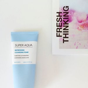 Learning to take care of your skin is learning to care for yourself 😘  For ladies with very dry skin like me, if you want value for money and you value your skin.. get this Missha super aqua cleansing foam at @altheakorea 😄 been trying a couple of cleansers that suits my skin and this cleansing foam really freshens and hydrates. Skin doesn't feel tight after washing 💧  #missha #cleansingfoam #dryskin #altheakorea #koreanskincare #koreanbeauty #kbeauty #skincare #beauty #healthyskin #glowingskin #moist #fresh #coolforthesummer #beautygram #instabeauty #instaskin #clozette #skincarejunkie #dewyskin #musthave #selflove #bebeautiful #skincarelover #beautysecrets #skincareluxury #loveit #glowgetter #productreview