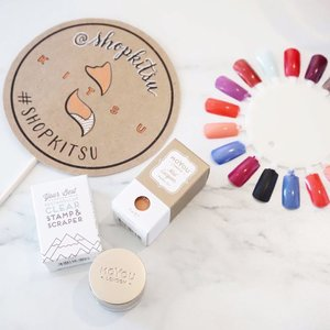 Did you beauty lovers know you can grab @moyou_london nail art plates, polishes and stamper at @shopkitsu ??! Today is their grand opening!!! Drop by and say hi!  #kireimakeup #moyoulondon #moyoulondoncanada #clozette #clozetteid #bbloggersca