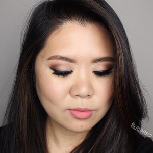 Requested look by @lieyashica is up on my Youtube channel - link is in bio! Check out the pictorial too in my blog (kireimakeup.com)  Face @tartecosmetics RoS foundation & concealer; @lauramercier translucent setting powder • Cheeks @beccacosmetics beach tint shimmer souffle in lychee/opal • Eyes @lauramercier artist palette; @ardell_lashes baby demi wispies lashes; @katvondbeauty trooper ink liner • Lips @narsissist playpen velvet lip glide  #kireimakeup #clozette #bbloggersca