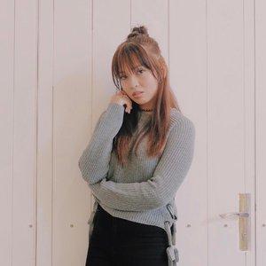 Embracing my inner Koreana. 😂 Annyeong! 👋🏻💕 #clozette #clozetteambassador #teamshirubi #patrishwears #ootd #ootdph