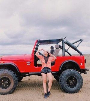 Let's take a ride and go on an adventure.❤️ #clozette #clozetteambassador #patrishwears #ootd #ootdph #teamshirubi #ilocos #sanddunes