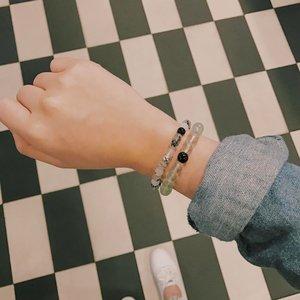 My everyday bracelets from @calypso.ph 🖤 #clozette #clozetteambassador #accessories #bracelets