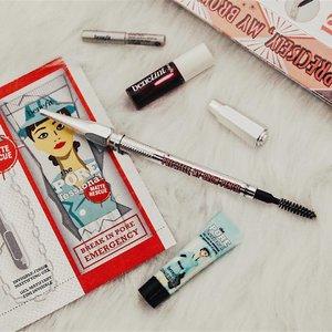 Favorite eyebrow product from @benefitph 💕 #clozette #clozetteambassador #benefitcosmetics #benefitph #preciselymybrowpencil #makeup #beauty