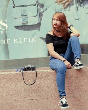 Photo by: @akofranz  #ootd #fashion #basicootd #tumblrposts #bloggerph #monochrome #tumblrgirl #tumblr #blackoutfit #blogger #youtube #youtuber #basic #fashionblogger #portrait #clozette #vscocam #vsco #ishootfilm #selfie #shootfilmstaybroke #artsy #creative #blog #artistic #artist #photography #bloggerstyle