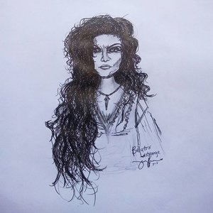 It's Helena Bonham Carter's birthday yesterday, and she portrayed one of my favorite character in #HarryPotter So I draw her based on what I remember, but of course she's prettier on my imagination and reality, than this haha. Happy Birthday Helena! . . . #bellatrix #bellatrixlestrange #hp #potterheads #HPBellatrix #thevscoshot #doodle #vscofashion #vscogrid #sketch #vscocam #vscophile #vscoph #vsco #fashionillustration #vscoart #vscobest #art #sketches #fashionsketch #sketch #anime #drawing #clozette #artist