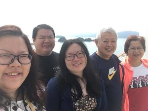 #throwback Funtime on the boat #clozette #royalcaribbean #voyageroftheseas #family #wefie #selca #selfie