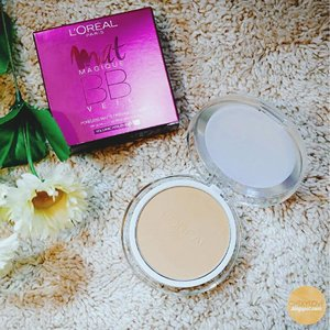 I've hit pan already!  One of the best drugstore pressed powders IMO. 👍🏼😊 ☪ chixylove.blogspot.com ☪  #blogged #loreal #matmagique #pressedpowder #drugstoremakeup #makeup #productreview #blogph #bbveil @lorealmakeup #clozette
