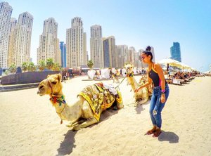 Hello Camel 🐫🤗 Watch my Travel Vlogs on Youtube: TAUYANM 🎥 Blog link on my bio. #dubai #dubaiblogger #uae #uaebloggers #malaysia #philippines #gopro #gopromy #goproph #goprome #yallagopro #filipino #solotravel #travel #travelphotography #travelpic #visitdubai #travelblogger #liketkit #beautiful #tagsforlikes #clozette #likesforlikes #f4f #beach #instagood #travels #goprohero4 #jumeirah #marina