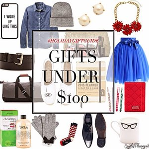Best Holiday Gifts for your loved ones under $100. Besides, there are #GreenMonday #sales selected just for you😱😱😱. Shop now on http://www.crystalphuong.net/2014/12/holiday-gift-guide-gifts-under-100.html #holidaygiftguide #clozette #stylexstyle #fashion #Fashionblogger #shopping #greenmonday #ilovemyjob