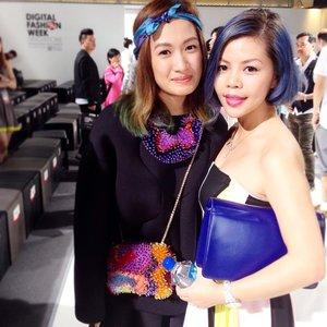 With Philippines popular #fashionblogger @laureenmuy! Welcome to Singapore babe! Hope you enjoy ur stay! Nice meeting you :) #clozette #DigitalFashionWeek #laureenmuy #ilovemyjob #ClozetteAmbassador #DFWInsider