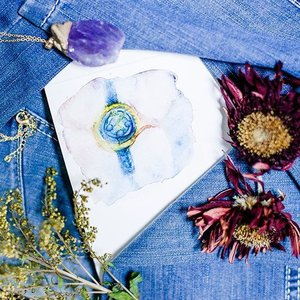 Fluidity of time with a beautiful blue @solvilettitussg timekeeper now available on @zalorasg ⌚ tap for details and read more at pupuren.com . #clozette #watercolor #blue #flatlay #art #artsy #amethyst #floral #driedflowers #geranium #yellowphoenix #solvilettitus #dealsale #illustration #sketch #drawing #painting #moleskine