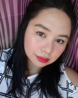 @iwhitekorea bb holic (beige) @welovemaybelline fitme concealer @elfcosmeticsph two way cake powder @everbilenaofficial two color pencil (brown/black) @fashion21_cosmetics double up mascara tints and the city samantha from @skinlabnaturalsph  #clozette