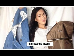 BACLARAN HAUL + 50 Pesos na DENIM JACKET!  - YouTube  Hello girls im back with another video.  im going to show you my first Baclaran Haul Enjoy watching! :) Do you believe? I Bought a Denim Jacket at 50 PESOS ONLY!  PS: iloveyoumorethancoffee xiao!