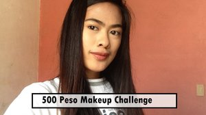 500 PESOS MAKEUP CHALLENGE (Contour at Hightlight)  - YouTube   Hi people! :) posted a new video at my youtube channel please do subscrbe! :) My very first Challenge lol finally.  Go watch my affordable Makeup challenge! ang hirap mag budget pag nagpapa-Ganda no? :) PS: iloveyoumorethancoffee xiao!