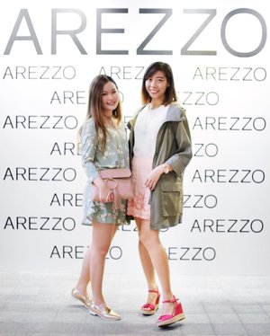 // AREZZO Summer 2017 。 Attended the event with gorg @EverestSays in our dazzling new shoes c/o #ArezzoSg 👠💖✨ . This Brazil 🔝 footwear brand for women, has made its debut in Singapore at Robinsons (The Heeren and Raffles City) and Metro (Paragon and Centrepoint) 〰 . Do check them out ❤️ . Thanks @wom_sgpr for having us 💋 . . . . #Aldoraty #Clozette #ClozetteAmbassador #ootdstyle #ootdfash #sginfluencer #influencersg #sgblogs #lookbooknu #lookbooksg #darlingmoment #seekthesimplicity #chictopia #clozetteco #chictopiastyle #lookme #lovethelook #outfitinspiration #outfitinspo #immtribe #outfitshare #lookbooker #fpme #freepeopleforsale