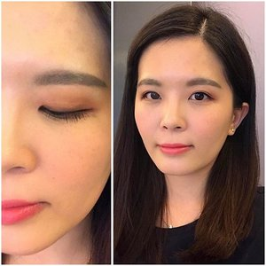 Still can't get enough of the makeover done by the makeup artist, Shawn on Saturday. Love this natural look ❤  Eyes - Pure Radiant Shadow in Rosebay Garden to create the natural look with burgundy eyeshadow colour and Urban Beige to line my eyes on top of their Gel Liquid Liner. He curled my lashes and used the Lash-Fessional Mascara and Jet Curling Mascara to lengthen and volumize the lashes.  Eyebrows - Eyebrow Cushion Cara  Blusher - Pure Radiant Blush in Pink and Coral.  Lips - Oppa prepped the lips by putting on Lip Sleeping Mask before my makeover and removed the mask right before applying Two Tone Tint Lip Bar in Tint Mint. ❤  What do you think of this overall look? 😊  #laneigebeautyroad #laneigemy #laneigemalaysia #clozette