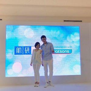 Taiwan renowned beauty gurus, Liu Yen and Xiao Kai were at Hada Labo workshop yesterday! ❤ This is by far the best shot I can get. 😍 #hadalabomy #hadalabomalaysia #clozette #hadalabo